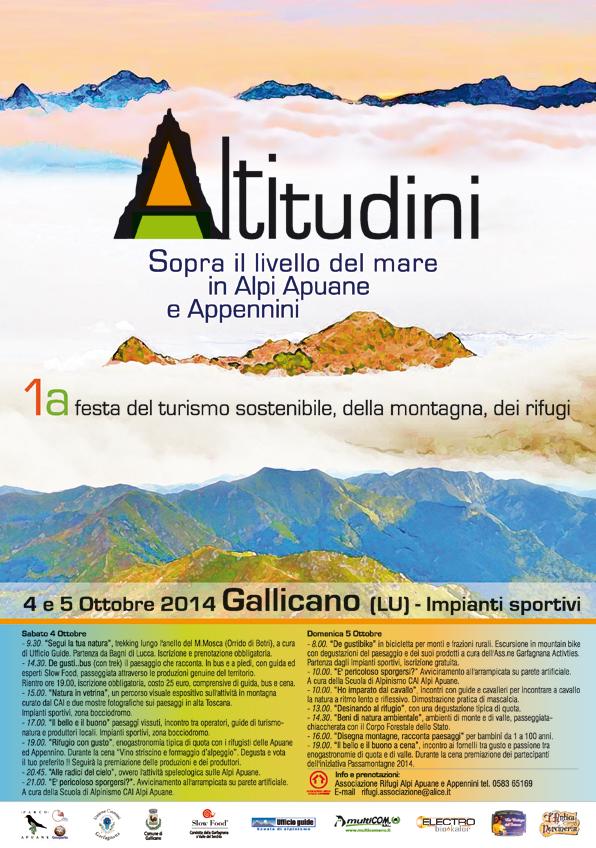 Altitudini Alpi Apuane